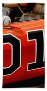 01 - The General Lee 1969 Dodge Charger Bath Towel