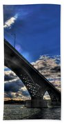 016 Peace Bridge Series II Beautiful Skies Hand Towel