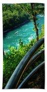 021 Niagara Gorge Trail Series  Bath Towel