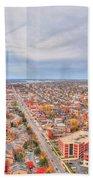 031 Series Of Buffalo Ny Via Birds Eye West Side Bath Towel