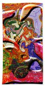 0627 Abstract Thought Bath Towel