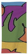 0638 Abstract Thought Bath Towel