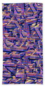 0724 Abstract Thought Bath Towel