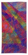 0726 Abstract Thought Bath Towel