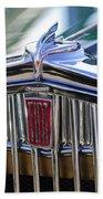 1933 Fiat Balilla Hood Ornament Bath Towel