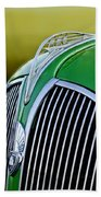 1937 Plymouth Hood Ornament Hand Towel