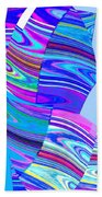 Abstract Fusion 44 Bath Towel