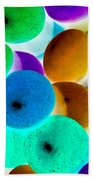 Abstract Negative Art Bath Towel