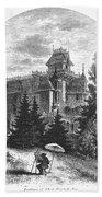 Albert Bierstadt (1830-1902) Bath Towel