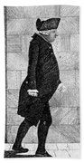 Alexander Monro II, Scottish Anatomist Bath Towel