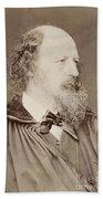 Alfred Tennyson Bath Towel