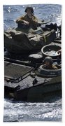 An Amphibious Assault Vehicle Bath Towel