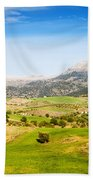 Andalusia Landscape In Spain Bath Towel
