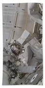 Astronaut Participates In A Session Bath Towel