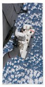 Astronaut Traverses Bath Towel