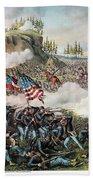 Battle Of Chickamauga 1863 Bath Towel