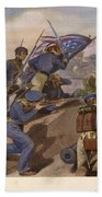 Battle Of Churubusco, 1847 Hand Towel