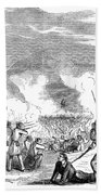 Battle Of Quarisma, 1857 Bath Towel