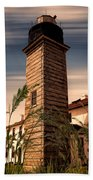 Beavertail Lighthouse Bath Towel