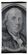 Ben Franklin Bath Towel