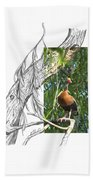 Black-bellied Whistling-duck Hand Towel