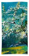 Blooming Appletree Bath Towel