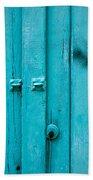 Blue Door Hand Towel by Tom Gowanlock