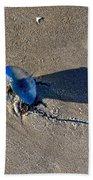 Blue On The Beach Bath Towel