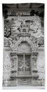 Buddhist Temple Wat Luang In Chiang Khong In Thailand Bath Towel