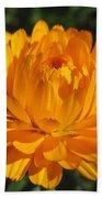 Calendula Named Bon-bon Orange Bath Towel