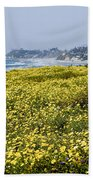 California Wildflowers Bath Towel