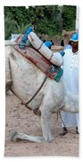 Camel Riders Bath Towel