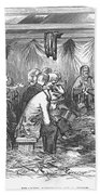 Camp Meeting, 1852 Bath Towel