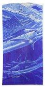 Carey Chen Mens Sailfish Shirt Bath Towel