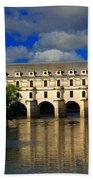 Chateau Chenonceau Bath Towel
