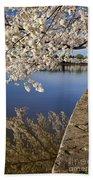 Cherry Blossoms Bath Towel