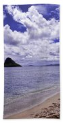 Chinaman S Hat From Kualoa Bath Towel