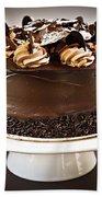Chocolate Cake Hand Towel