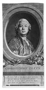 Christoph Willibald Gluck Bath Towel