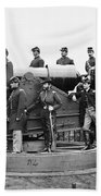 Civil War: Officers, 1865 Bath Towel