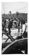 Civil War: Union Artillery Bath Towel