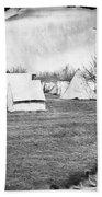Civil War: Union Camp, 1863 Bath Towel