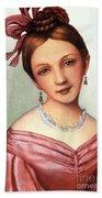 Clara Schumann (1819-1896) Bath Towel