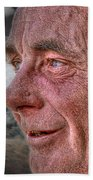 Close-up Profile Robert John K. Bath Towel