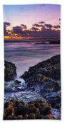 Coastal Landscape Bath Towel