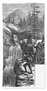 Colorado: Pikes Peak, 1867 Bath Towel