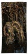 Cypress Knee Monster Bath Towel