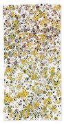 Earthtones Abstract Bath Towel