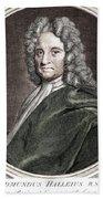 Edmond Halley, English Polymath Hand Towel