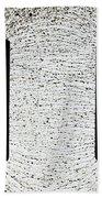 Electrostatic Field Lines Bath Towel